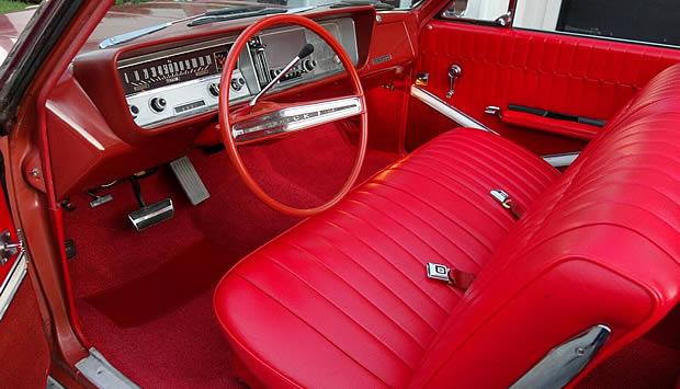 1964 Buick Skylark Convertible All-vinyl Interior