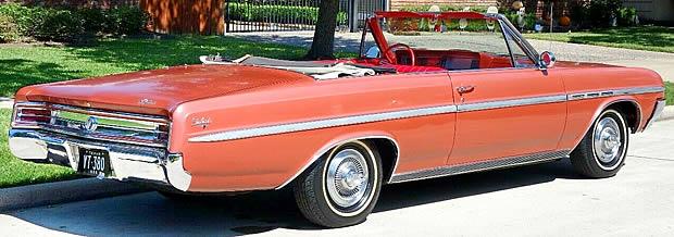 1964 Buick Skylark Convertible Rear View