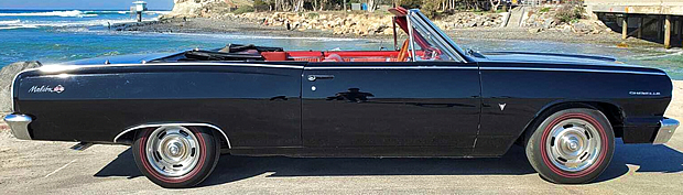 1964 Chevy Chevelle SS Convertible Side View