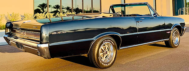 1964 Pontiac GTO Convertible Rear / Side View