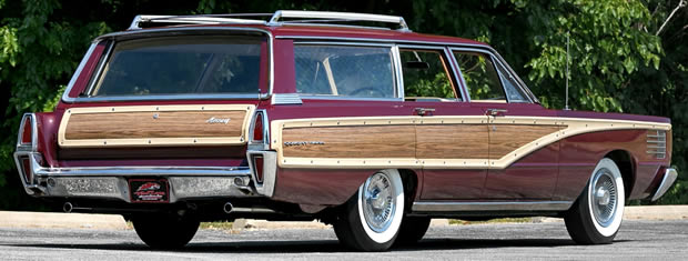 1965 Mercury Colony Park Rear View
