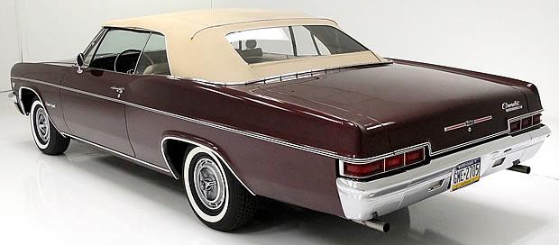 1966 Chevrolet Impala SS rear view