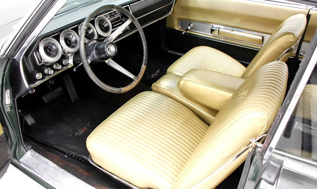 1967 Dodge Charger Interior