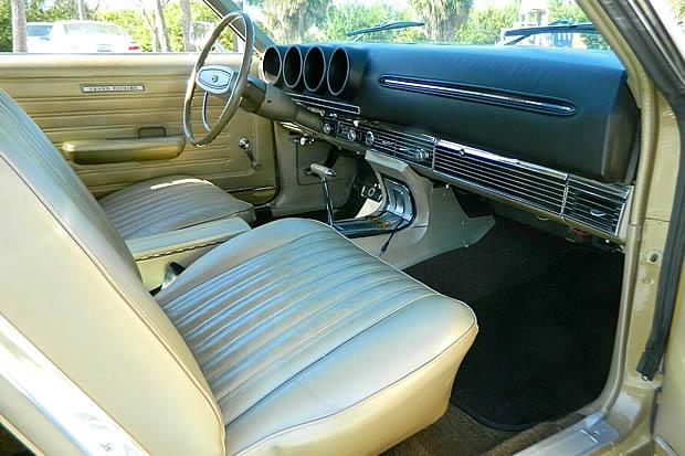 1968 Ford Torino GT Interior