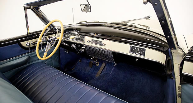 1950 Cadillac Convertible Interior