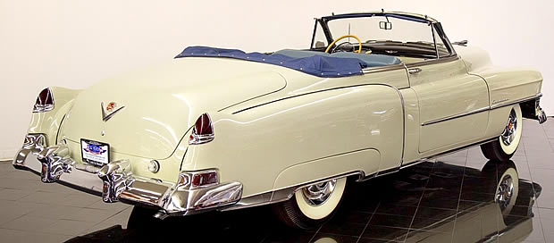 1950 Cadillac Convertible Rear