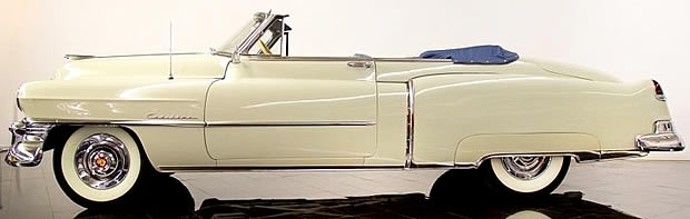 1950 Caddy Convertible side view