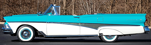 side view of 58 Skyliner