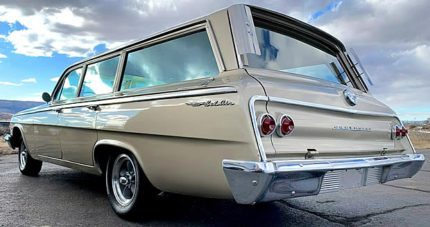1962 Chevy Bel Air Station Wagon Rear