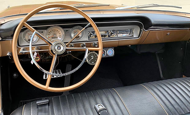 1964 Ford Custom Ranch Wagon - all -vinyl interior