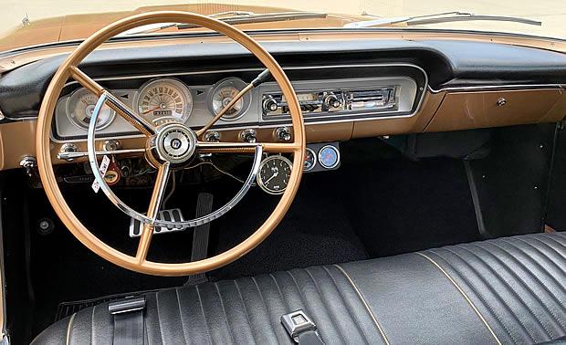 1964 Ford Custom Ranch Wagon - all -vinyl interior