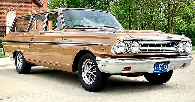 1964 Ford Fairlane 500 Custom Ranch Wagon