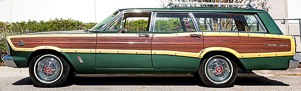 Side view of the Country Squire