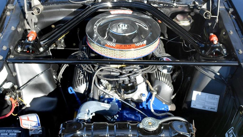 1966 289 V8 - Shelby modified engine outputting 306 horsepower