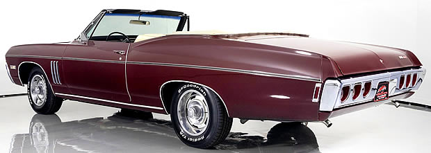 1968 Chevy Impala SS-427 Convertible Rear View