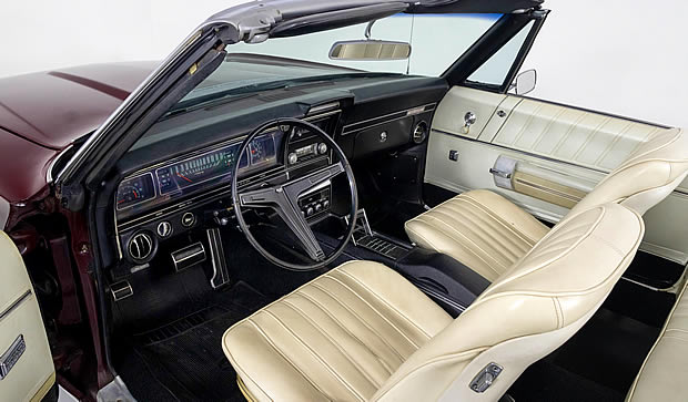 1968 Chevrolet Impala SS Convertible Interior