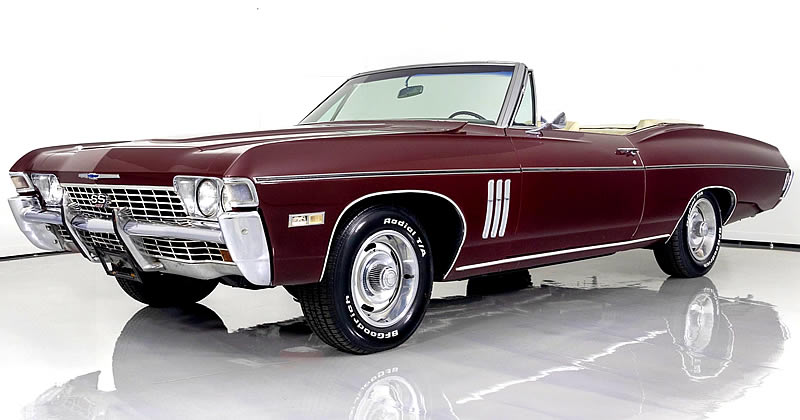 1968 Chevrolet Impala SS-427 Convertible