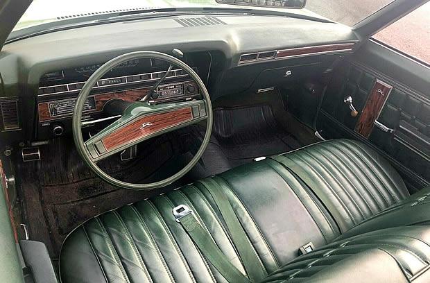 70 Chevy Impala Convertible Interior