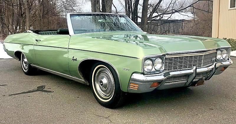 1970 Chevrolet Impala Convertible