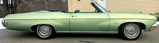 1970 Chevy Impala Convertible - Side view