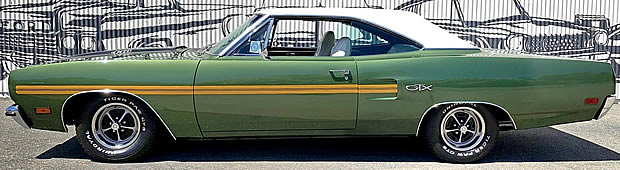 1970 Plymouth GTX 440 side view