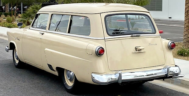 Rear view of the Ranch Wagon for 1952