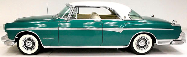 Side view of a 55 Imperial Newport Coupe