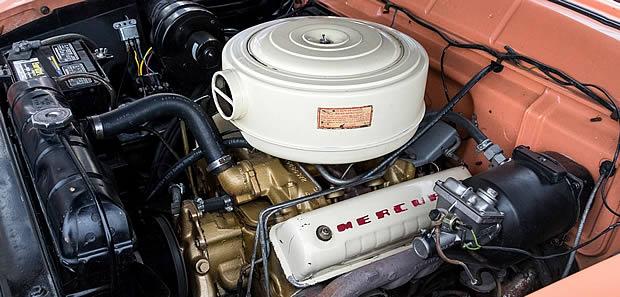 1955 Mercury 292 V8 engine