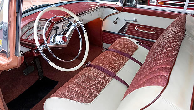 1955 Mercury Monterey Interior