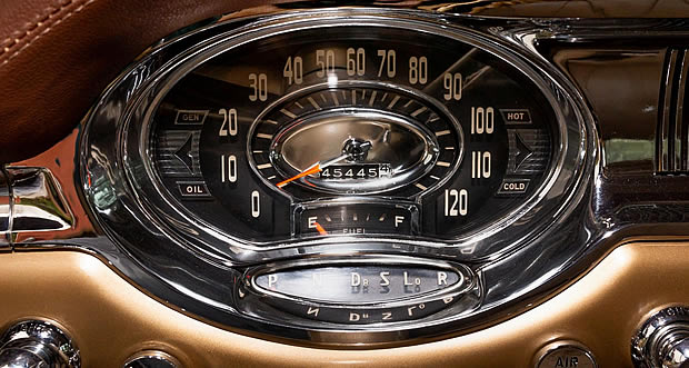 1956 Oldsmobile Speedometer with Jetaway