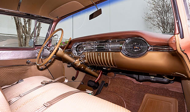 1956 Oldsmobile Super 88 Interior
