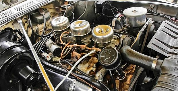 1957 Oldsmobile 371 J2 Rocket engine