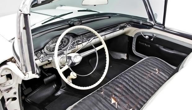 1957 Oldsmobile 98 Convertible interior