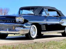 1958 Pontiac Bonneville Convertible