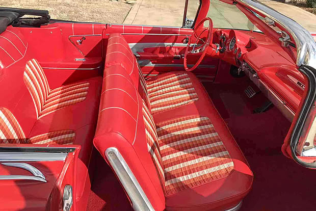 1959 Chevrolet Impala Convertible Interior