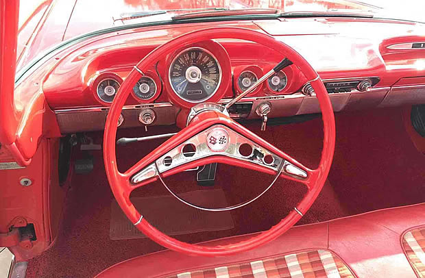 1959 Chevy Impala instrument panel