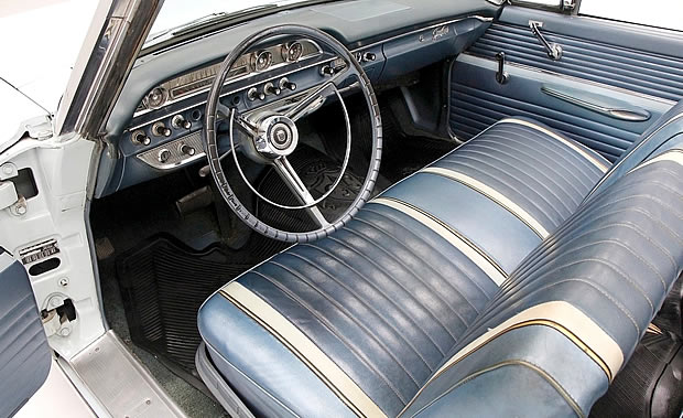 62 Galaxie 500 Sunliner Convertible interior