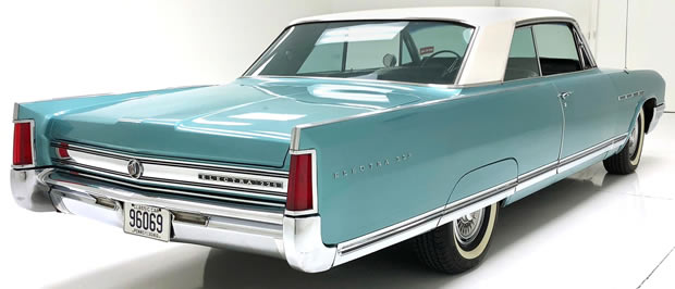 rear view of a 64 Buick Electra 225