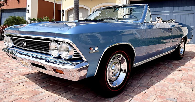 1966 Chevy Chevelle SS396 Convertible