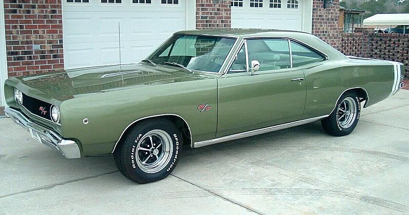 1968 Dodge Coronet R/T 440 HP V8