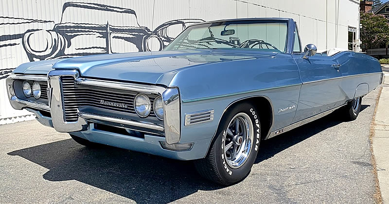 1968 Pontiac Bonneville Convertible