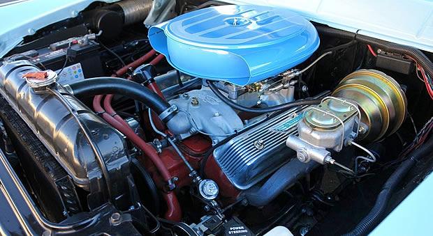 1956 292 cubic in Thunderbird Y-Block
