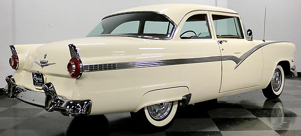 The club sedan - part of the Ford Fairlane series for 1956