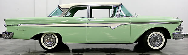 side view of the 59 Edsel Ranger