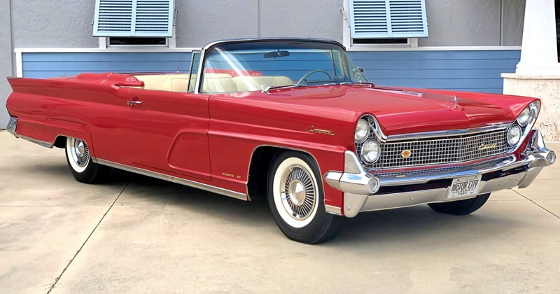 1959 Lincoln Continental Mark IV Convertible