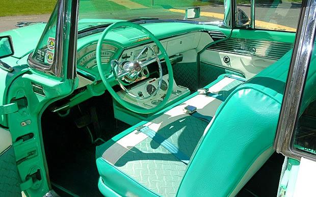 Interior of the 1955 Mercury Montclair Sun Valley