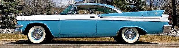 1957 Dodge Custom Royal 2-door Lancer Hardtop