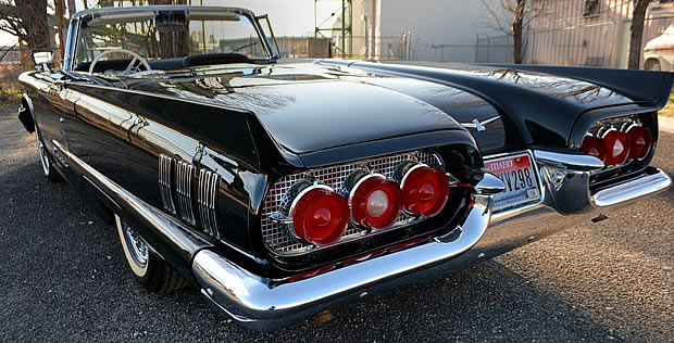 1960 Thunderbird Convertible Rear