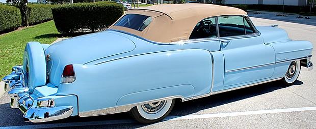 1963 Cadillac Series 62 Convertible rear
