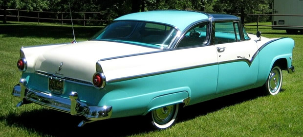 1955 Crown Victoria - rear view